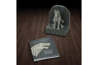Game of Thrones Direwolf Paperweight & Mini-Book