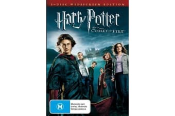 Harry Potter And The Goblet Of Fire - Rare- Aus Stock DVD PREOWNED: DISC LIKE NEW
