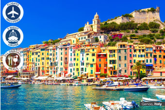 EUROPE: 15 Day Mediterranean Cruise & Explore Spain Package Including Flights For Two