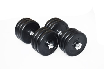 35KG Dumbbell Adjustable Weight Set