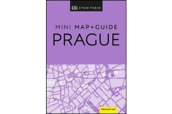 DK Eyewitness Prague Mini Map and Guide