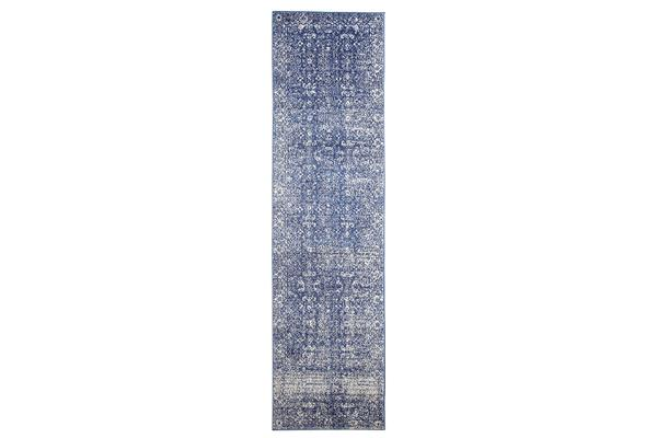 Oasis Navy Transitional Rug 500x80cm