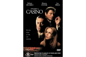 Casino DVD Region 4