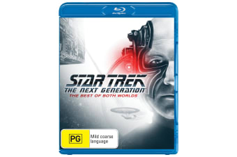 Star Trek the Next Generation The Best of Both Worlds Blu-ray Region B
