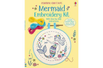 Embroidery Kit - Mermaid