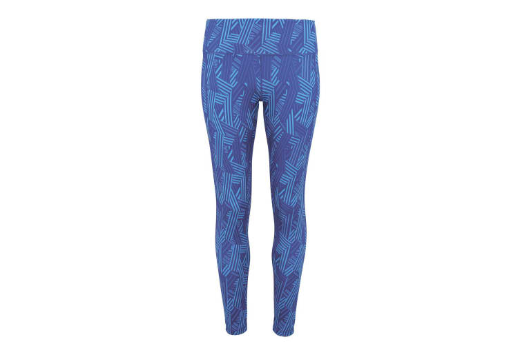 TriDri Womens/Ladies Performance Crossline Full-Length Leggings (Royal) (S)