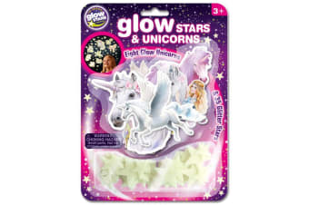 Brainstorm Glow Stars and Unicorns