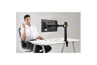 "Loctek DLB111 10""-30"" Desk Mount Office Home Use Single LCD Monitor Arm Desktop Mount Economic Type"