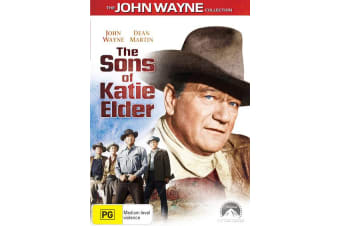 The Sons of Katie Elder DVD Region 4
