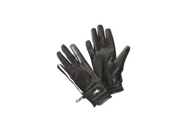 Harry Hall Adults Unisex Lockton Gloves (Black) (L)