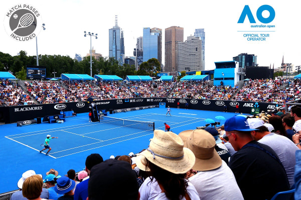 MELBOURNE: Australian Open 2020 Quarterfinals with 3 Nights Accommodation for Two (Adina Apartment Hotel - 1BR Apt)
