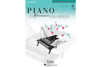 Piano Adventures - Level 3A - Performance Book