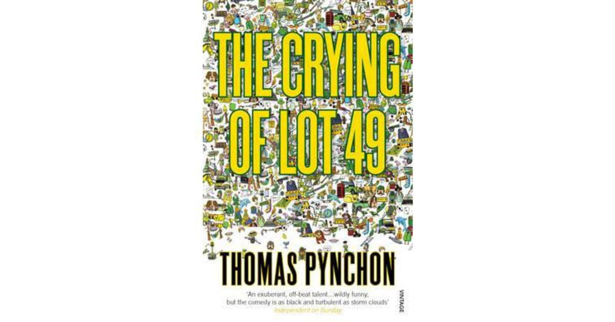 an overview of oedipa and the truth about the waste system in the crying of lot 49 by thomas pynchon Following an overview of the company civil action film toxic waste torts adversary system 8 pages the crying of lot 49 by thomas pynchon.
