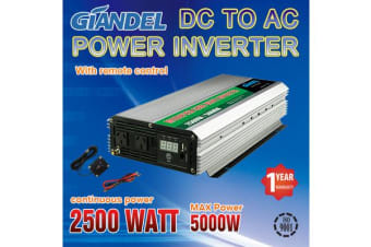 2500W Modified Inverter with Overload Protection