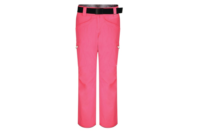 Dare 2B Womens/Ladies Free Scope II Ski Pants (Luminous Pink) (UK Size 10)