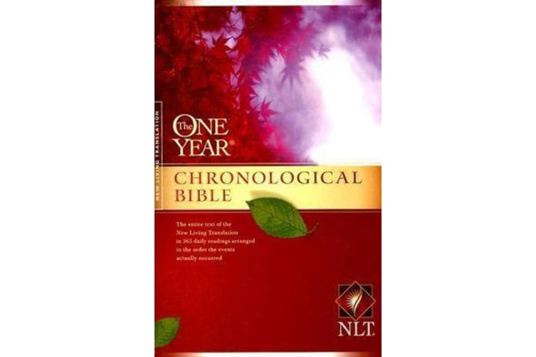 NLT One Year Chronological Bible, The