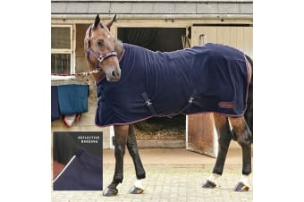 Whitaker Rastrick Fleece Rug (Navy/Reflective)