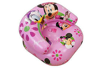 Girls Kids Disney Minnie Mouse Inflatable Chair (Pink) (See Description)