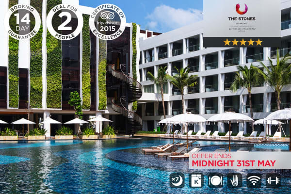 BALI: Stones Legian Autograph Collection 2 (5 Star, 7 Nights)