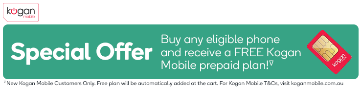 Free Large 30 Day Kogan Mobile Plan with Select Phones