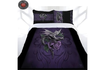 Anne Stokes Dragon Beauty Quilt Cover Set Queen
