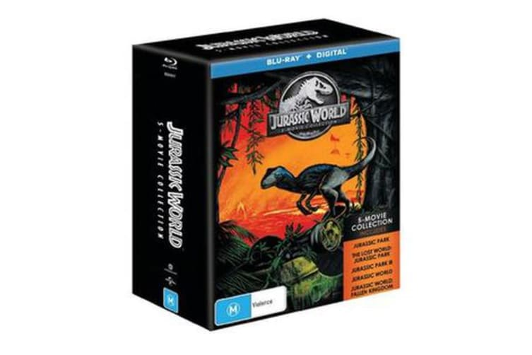 Jurassic World 5 Movie Collection (Blu-ray)