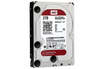 "Western Digital Red Pro 2TB HDD for NAS SATAIII 7200rpm 64Mb 3.5"" - WD2002FFSX"