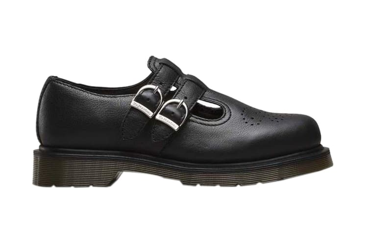 Dr. Martens 8065 Virginia Shoe (Black, Size UK 4)