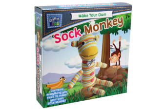 Craft for Kids Make Your Own Sock Monkey