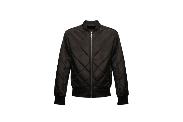 Regatta Mens Originals Fallowfield Bomber Jacket (Black) (XS)