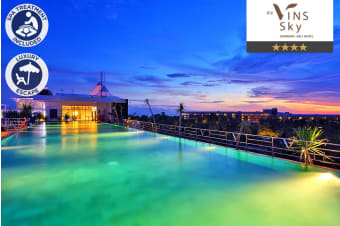 BALI: 5 Nights at de Vins Sky Hotel Seminyak for Two