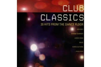 Club Classics /20 Hits from the Dancefloor BRAND NEW SEALED MUSIC ALBUM CD