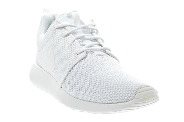 Nike Men's Roshe One Shoe (White/White, Size 7)