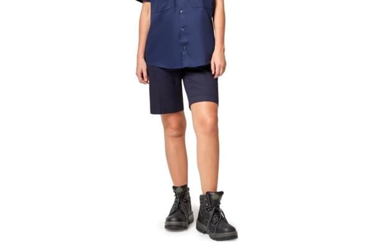 King Gee Women's Casual Chino Short (Navy , Size 18)