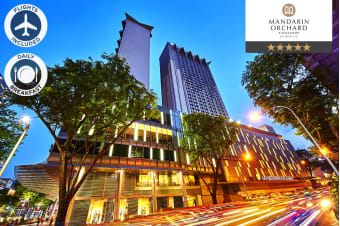 SINGAPORE: 3 Night Stay At Mandarin Orchard Singapore by Meritus Including Flights for Two
