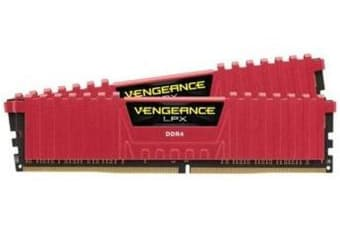 Corsair Vengeance LPX 16GB (2x8GB) DDR4 2400MHz C14 Desktop Gaming Memory Red