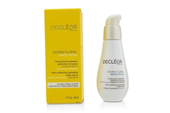 Decleor Hydra Floral White Petal Roman Chamomile Skin Perfecting Hydrating Milky Lotion 50ml