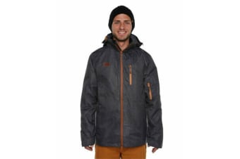 XTM Adult Male Snow Jackets Mason Mens Jacket Black Denim - S