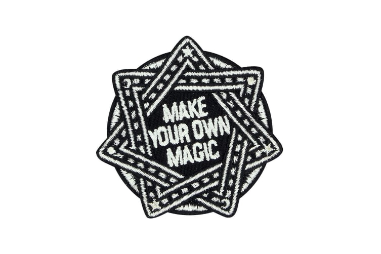 Grindstore Make Your Own Magic Patch (Black/White) (One Size)