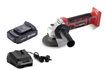 Certa PowerPlus 18V Cordless Angle Grinder Kit