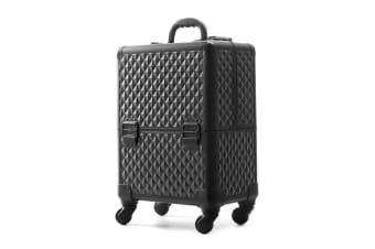 Bon Fille Extra Large Portable Cosmetics Trolley With Secured Locks And Wheels