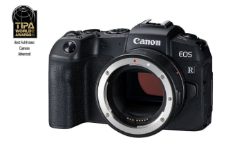 Canon EOS RP Full Frame Mirrorless Camera with 4K video and EF-EOSR Mount Adaptor