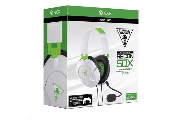 Turtle Beach Ear Force Recon 50X White Gaming Headset
