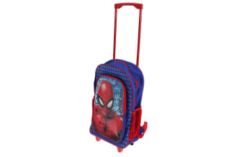Marvel Childrens/Kids Spider-Man Roller Backpack (Red/Blue)