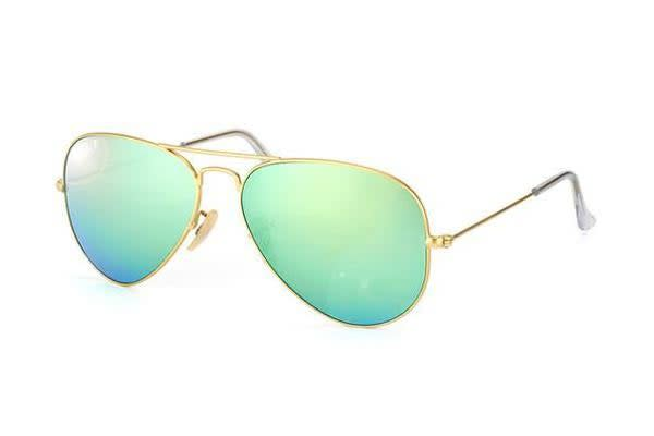b32be0ac7dc57 Shoes   Fashion     Sunglasses · Ray Ban. Ray Ban RB3025 AVIATOR - Gold (Green  Mirror Polarised lens)   58--