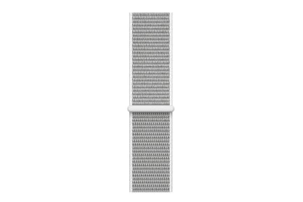 Apple Watch Series 3 (Silver, 38mm, Seashell Sport Loop, GPS + Cellular)
