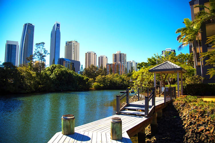 GOLD COAST: 4 Day Winter Escape at Paradise Island Resort Including Whale Watching Tour For Two