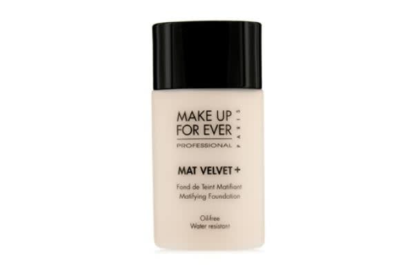 Make Up For Ever Mat Velvet + Matifying Foundation - #25 (Warm Ivory) (30ml/1.01oz)
