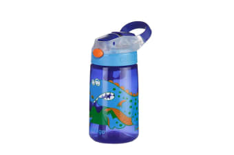 Contigo Gizmo Flip Autospout Dinosaur Water Bottle 420ml