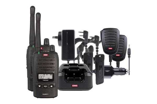 Gme 5W Ip67 Uhf Cb Comm-Kit